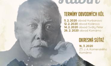 66. Hviezdoslavov Kubín – okres Komárno
