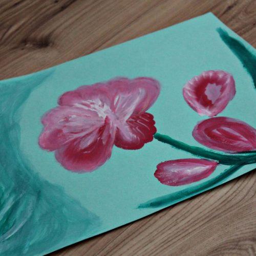 Kvety jedným ťahom (10)