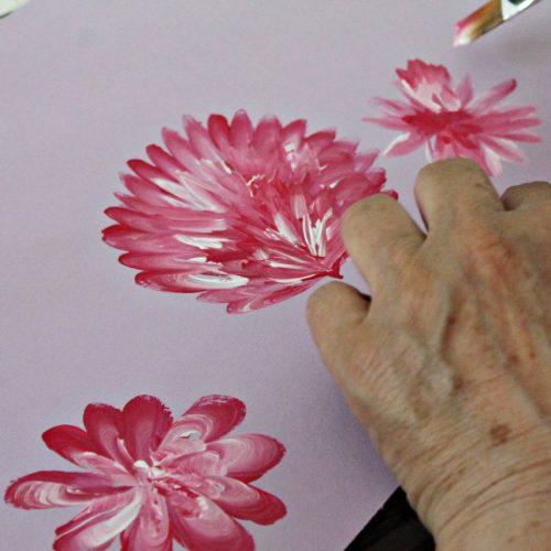 Kvety jedným ťahom (4)