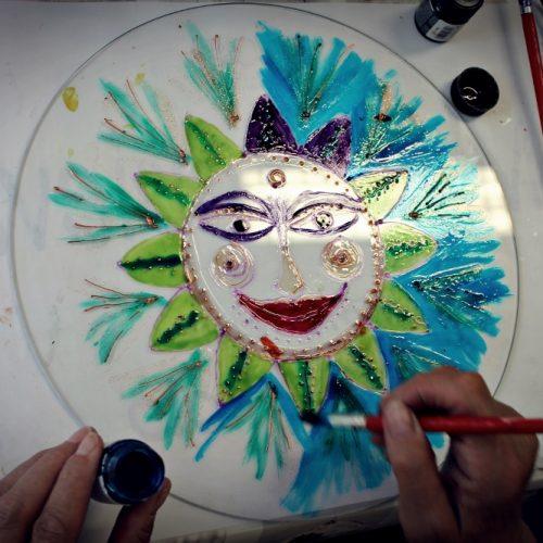 Na skle maľované (4)