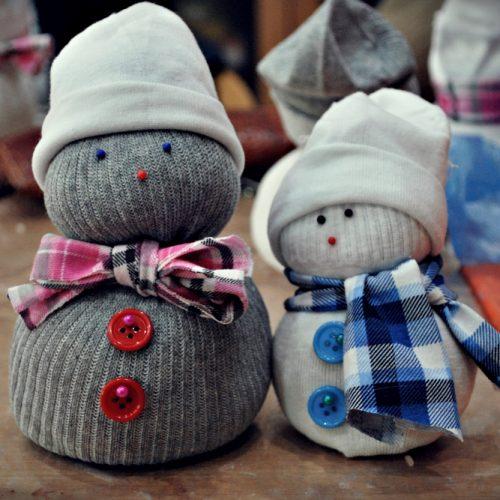 Ponožkový snehuliak Centrál (1)