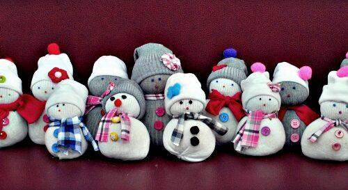 Ponožkový snehuliak Centrál (6)