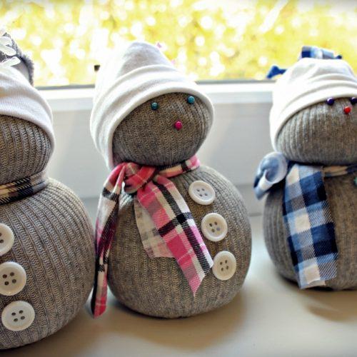 Ponožkový snehuliak ROS (6)