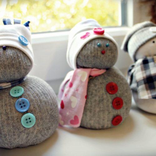 Ponožkový snehuliak ROS (7)